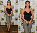 Camila Mendes   Attends Riverdale Photocall at Comic-con 2019
