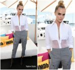 Cara Delevigne In Thom Browne @ Comic – Con 2019