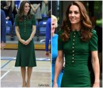 Catherine, Duchess of Cambridge  In  Dolce & Gabbana   @  Wimbledon Finals 2019