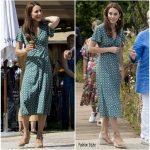 Catherine, Duchess of Cambridge In Sandro @  RHS  The Hampton Court Palace Garden  Festival