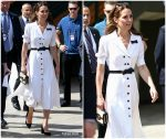 Catherine, Duchess Of Cambridge  In  Suzannah @  Wimbledon  Tennis Championships DAY 2