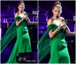 Celine Dion  In  Vivienne Westwood Couture  @ British Summer Time Hyde Park Festival