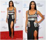 Ciara  In David Koma @  5th Annual Sports Humanitarian Awards