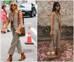 Diane Kruger In Michael Kors Collection @ New York Build Series