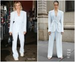 Diane Kruger  In Prabal Gurung @  Live  With Kelly & Ryan