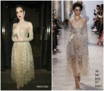 Dita Von Teese In Elie Saab @ Whiskey Down In Manchester