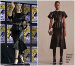 Elizabeth Olsen In Alexander McQueen @  Comic-Con  2019