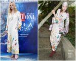 Elle Fanning In Valentino  @  2019 Giffoni  Film Festival