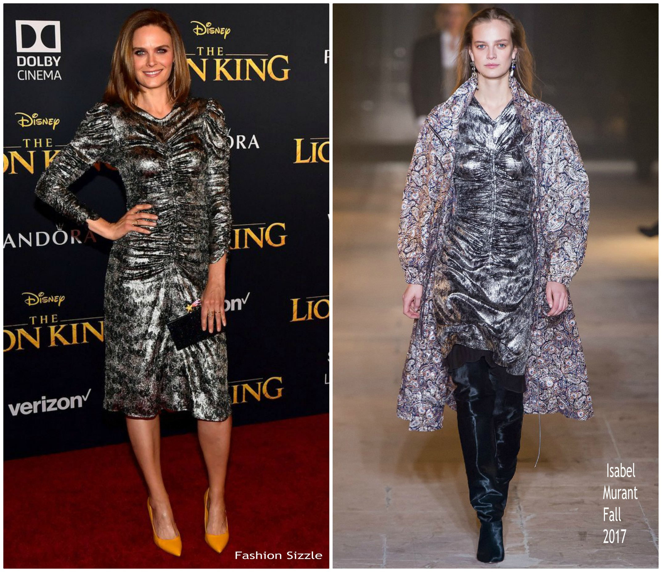 emily-deschanel-in-isabel-marant-lion-king-world-premiere