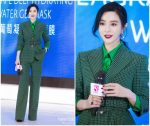 Fan Bingbing  In Givenchy Suit @ Shanghai Beauty Summit 2019