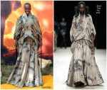 Florence Kasumba  In David Tlale @ 'The Lion King' London Premiere