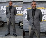 Idris Elba In Tom Ford @ 'Fast & Furious Presents: Hobbs & Shaw' LA Premiere
