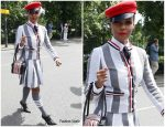 Janelle Monae in Thom Browne @   Wimbledon 2019