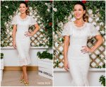 Kate Beckinsale  In Dolce & Gabbana @ Wimbledon Men's Finals
