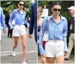 Kendall Jenner in Polo Ralph Lauren @  Wimbledon 2019