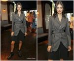 Kendall Jenner In   Prada @ MOVINGLOVE dinner in London