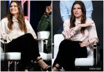 Lake Bell In Celine @ Harley Quinn Panel at TCA Summer Press Tour