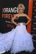"Laverne Cox In  Christian Siriano @  Taylor Schilling In Monse @ ""Orange Is The New Black"" Final Season  NY Premiere"