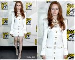 Madelaine Petsch in Balmain @ Comic- Con 2019