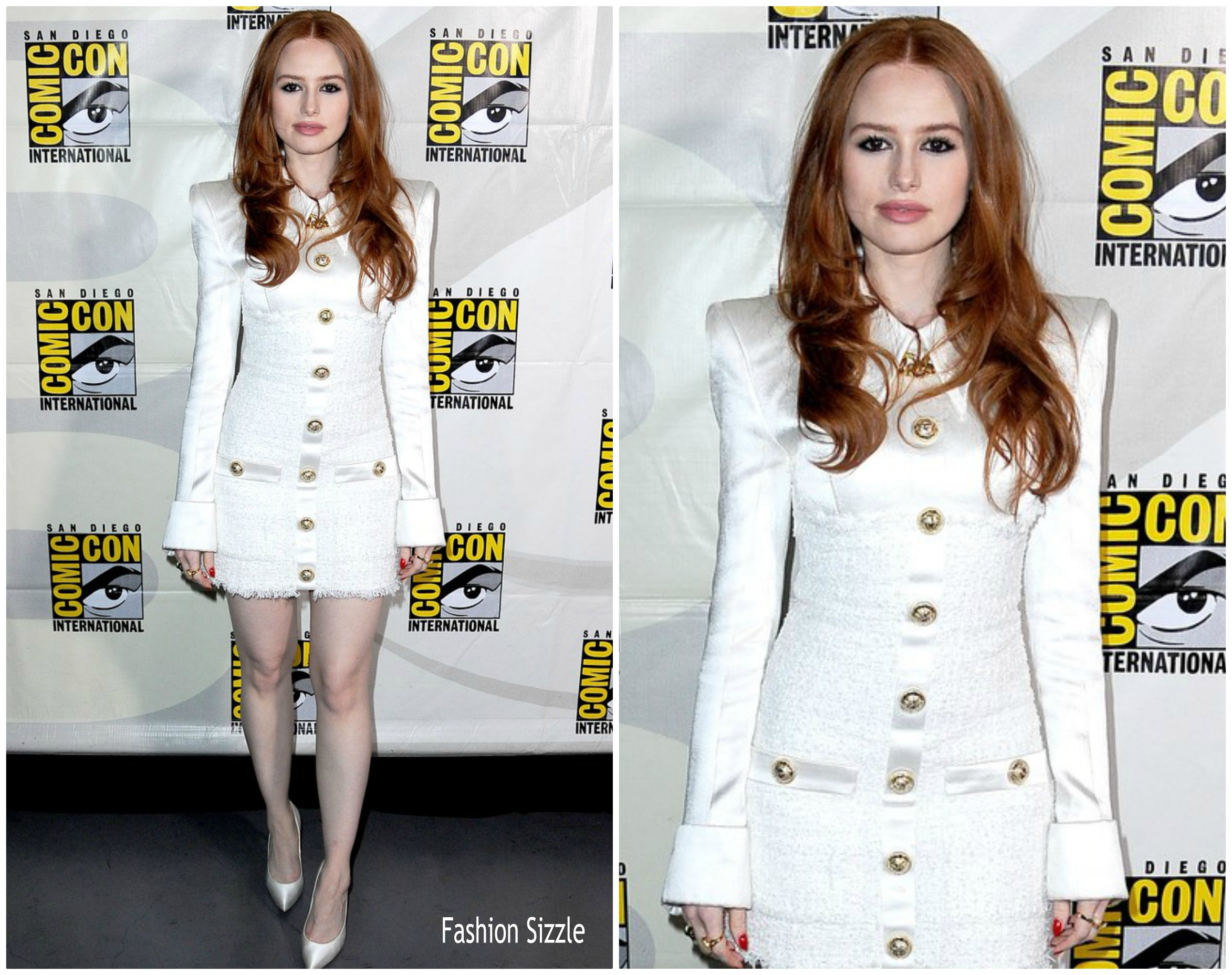 madelaine-petsch-in-balmain-comic-con-2019