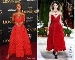 Marsai Martin In Oscar De La Renta  @  'The Lion King' World Premiere