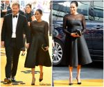 Meghan, Duchess of Sussex & Prince Harry Attends  'The Lion King' London Premiere