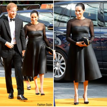 meghan-markle-in-jason-wu-lion-king-london-premiere