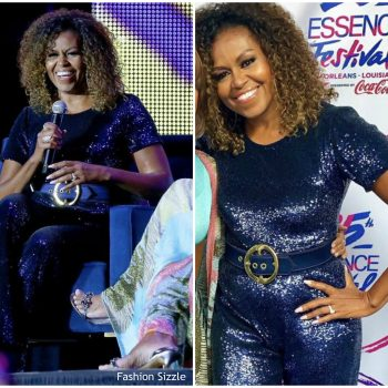 michelle-obama-in-sergio-hudson-essence festival-2019