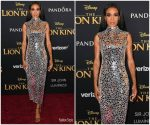 Michelle Williams  In Atelier Zuhra  @ 'The Lion King' World Premiere