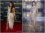 Normani Kordei  In Julien Macdonald  @  Lion King' World Premiere