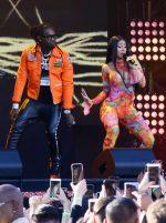 Cardi B & Offset Performs @  Jimmy Kimmel  LIVE