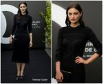 Phoebe Tonkin  In Chanel  @ Noir et Blanc de Chanel Fall-Winter 2019 Makeup Collection launch in Paris