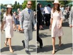 Pippa Middleton In Stella McCartney  @ The Wimbledon  2019 Tennis Championships