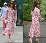 Pippa Middleton In Timo  @ Wimbledon 2019