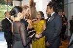 Beyoncé & Meghan Markle Finally Meet At The Lion King  London Premiere