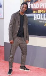 TRAVIS SCOTT Attends Once Upon A Time ' Hollywood Premiere