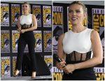 Scarlett Johansson  In David Koma  @ Comic-Con  2019