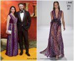 """Seth Rogen &  Lauren Miller Rogen  @ European premiere of """"The Lion King"""" in London"""