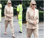 Sienna Miller in Ralph Lauren Collection @ Wimbledon  2019