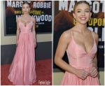 Sydney Sweeney In Miu Miu @ Once Upon A Time ' Hollywood Premiere