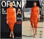 "Taylor Schilling In Monse @ ""Orange is The New Black""  Final Season  NY Premiere"