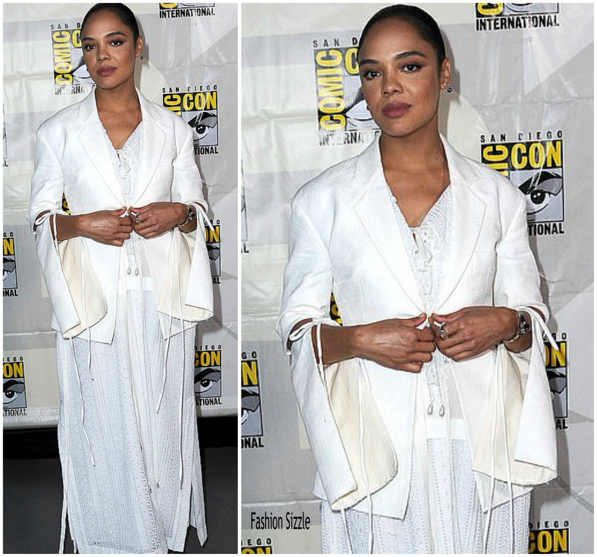 teesa-thompson-in-loewe-comic-con-2019
