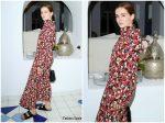 Zoey Deutch  In Floral Dress @  2019  Ischia Global Film & Music Fest  2019