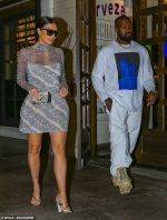 Kim Kardashian West  In KSUBI  @  Date Night With Kanye  in LA