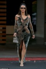 Kim Kardashian In Ottolinger Dress @  Agoura Hills