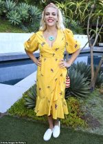 Busy Philipps In Farm Rio @ Rothy's Conscious Cocktails Event In LA