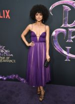 "Nathalie Emmanuel  In Miu Miu @  ""The Dark Crystal: Age of Resistance"" New York Premiere"