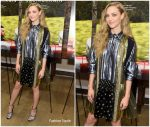 Amanda Seyfried  In Prada @  Art of Racing in the Rain New York Premiere