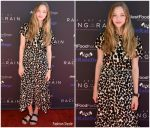 "Amanda Seyfried In Proenza Schouler @ ' The Art Of Racing In The Rain ""  Event In Los Angeles"