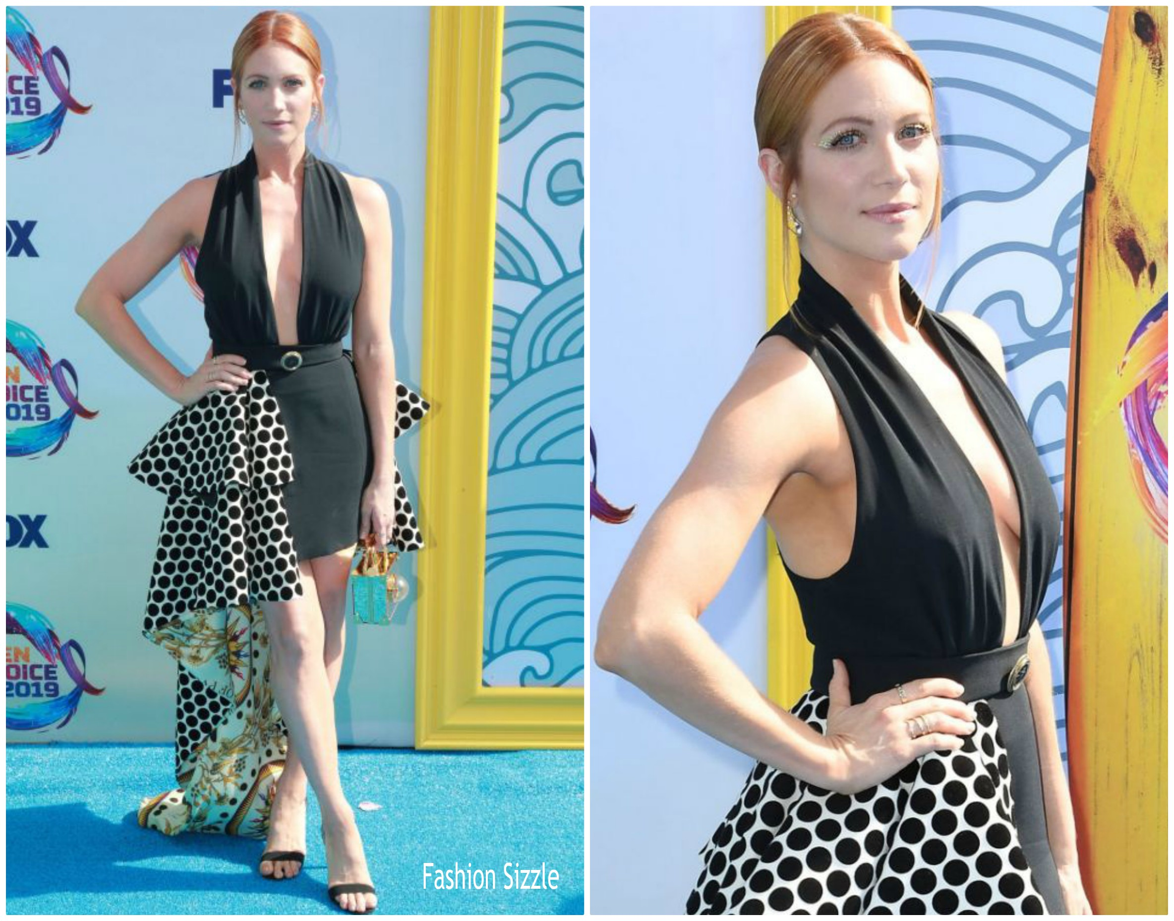 brittany-snow-in-fausto-puglisi-2019-teen-choice-awards